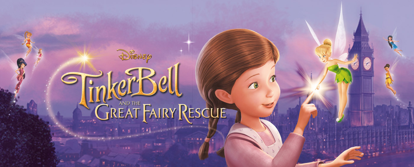 Tinker Bell and the Great Fairy Rescue 300MB Hindi English ...