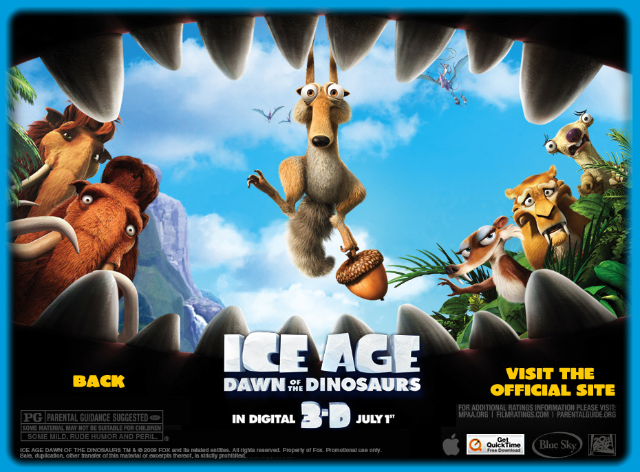 Download Film Ice Age Dawn Dinosaurs 2009