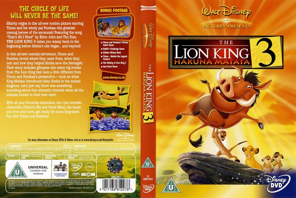 Related Keywords & Suggestions for lion king 3