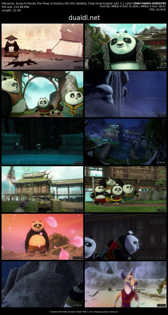 Kung Fu Panda The Paws of Destiny S01 E01