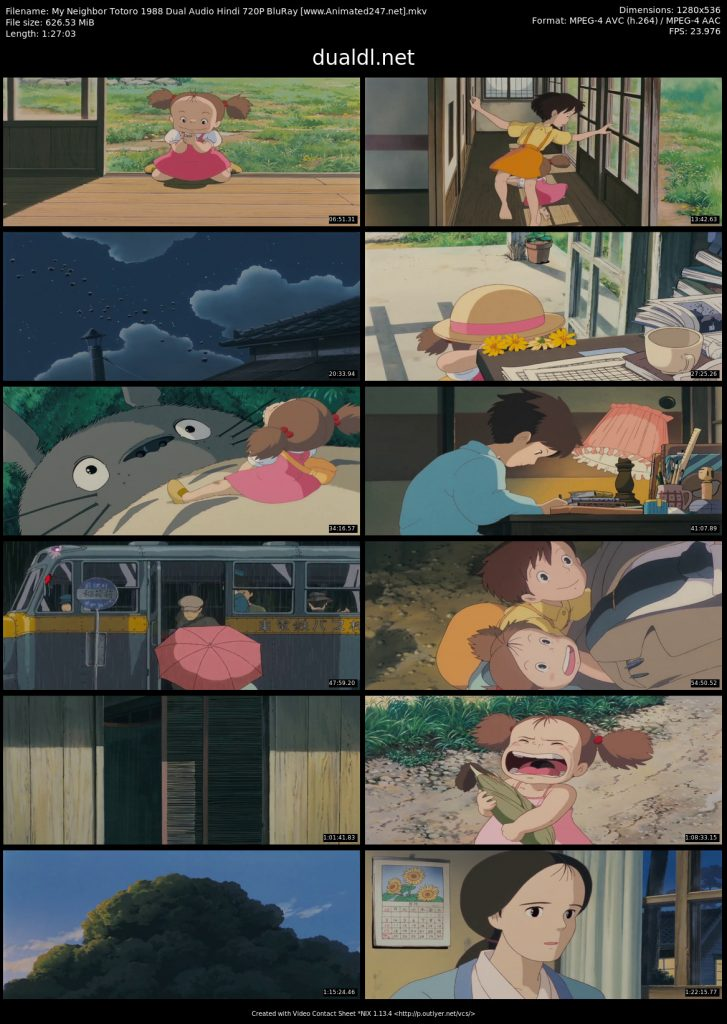 My Neighbor Totoro Hindi Dubbed Download