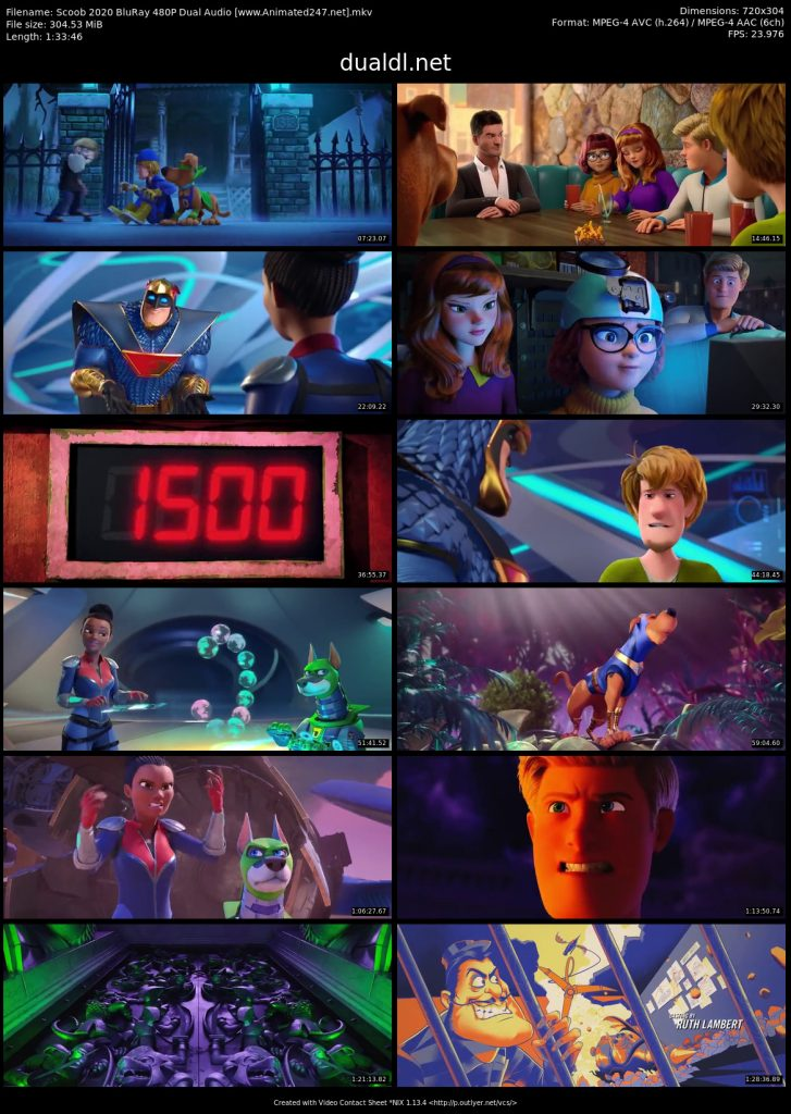 Scoob Full Movie Hindi Dubbed 300MB 480P Free Download