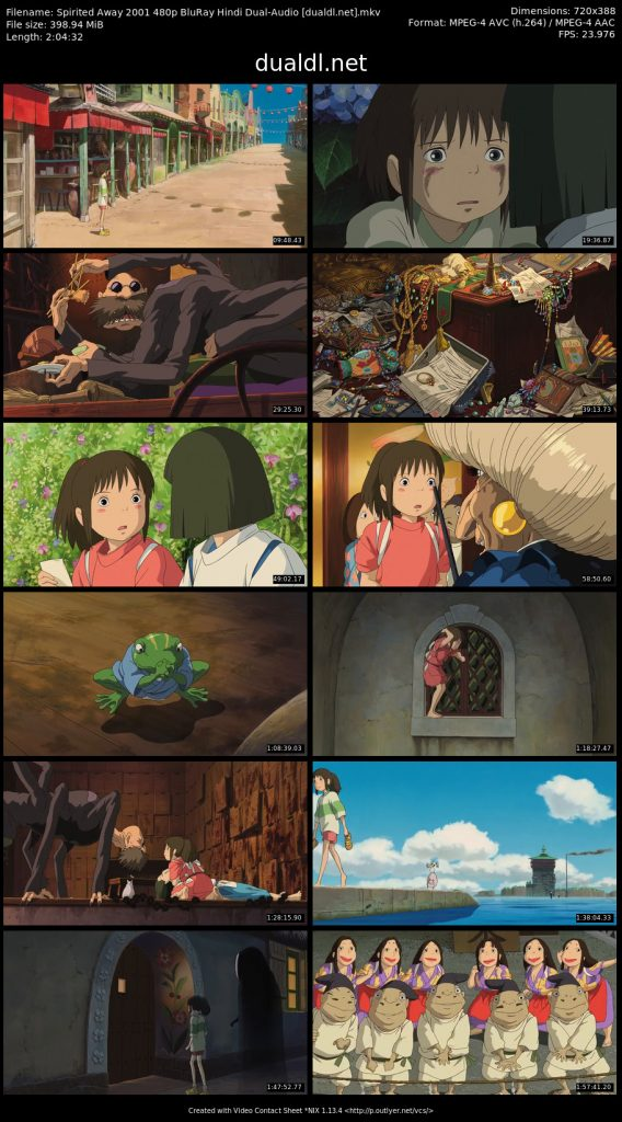 Spirited Away Full Movie Hindi