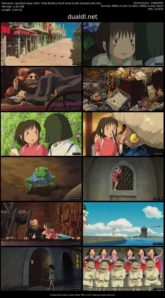 Spirited Away Download